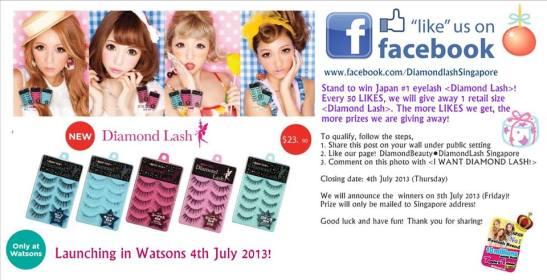 d3045b63730 Diamond Lash is coming to Watson Singapore!!!   Ginevi - Beauty and  Lifestyle Media