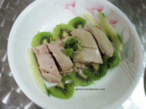 Happy Sunday Dinner With Zespri Kiwi Healthy Homemade Chicken Rice