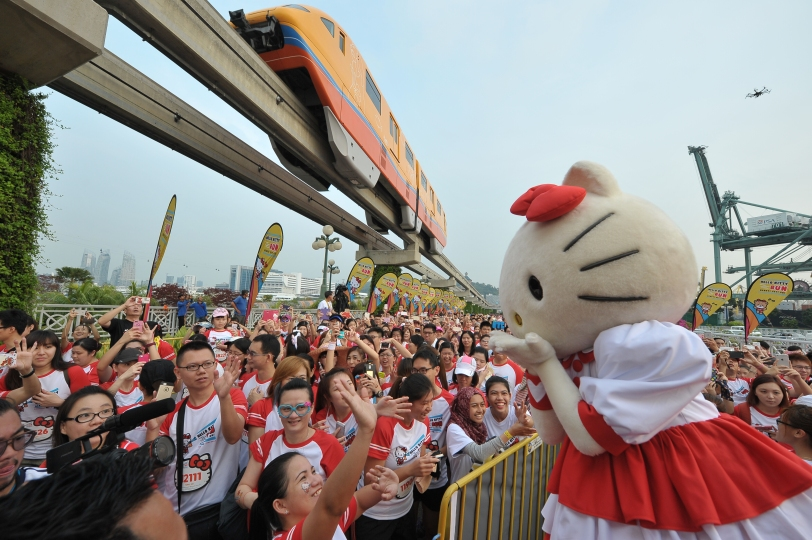 Hello Kitty Singapore Run 2014, Credit - Pink Apple  (17)