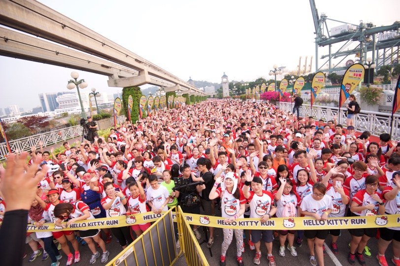 Hello Kitty Singapore Run 2014, Credit - Pink Apple  (7)