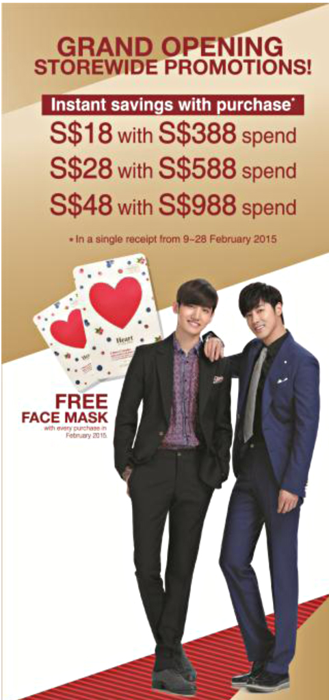 The Shilla Duty Free Singapore Grand Launch