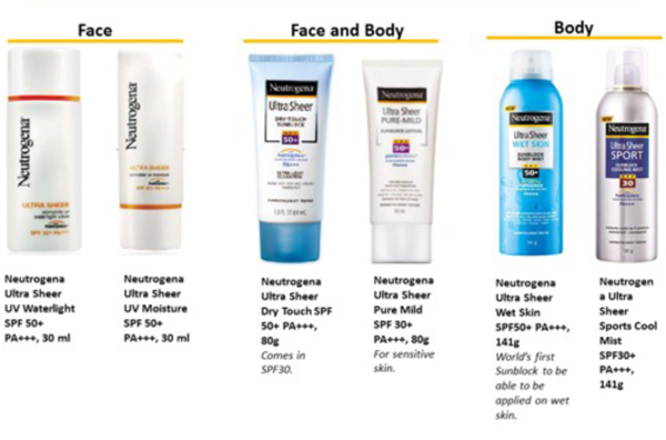 Brief to Sample Store - Neutrogena Suncare-2