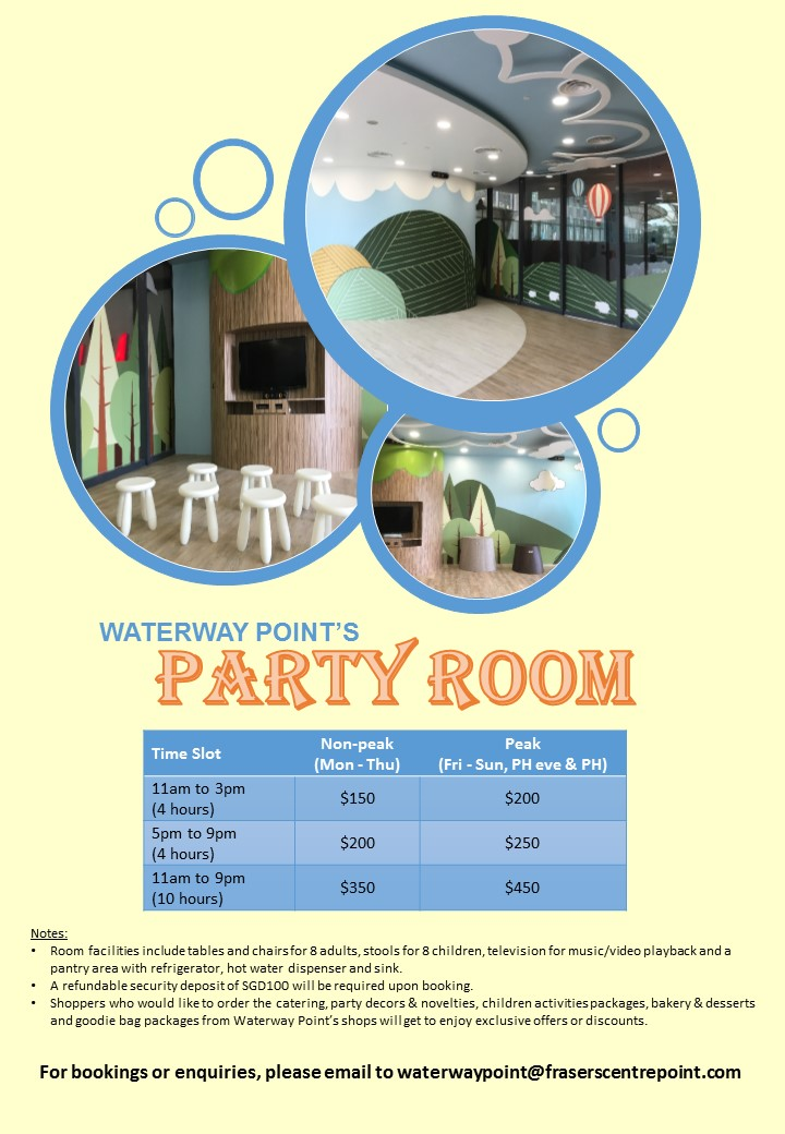 Party Room Rates